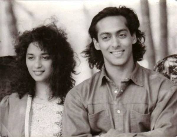 Salman Khan with Madhuri Dixit on Saajan sets_Bollywoodirect_Bollywood-Watch-Download-Movies-Online-For-Free