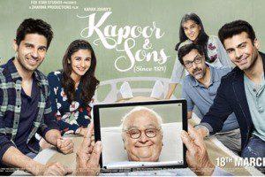 Kapoor & Sons_Fawad Khan_Siddharth Malhotra_Alia Bhatt_Rishi Kapoor_Review_Trailer-First Look-Poster-Bollywoodirect