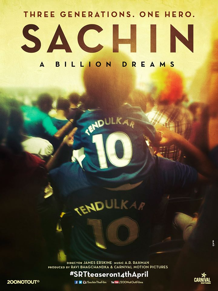 Sachin The Billion Dreams_Movie_Official Poster_Teaser_Trailer_Bollywoodirect