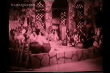 Laila Majnu 1945 : Tera Jalwa jisne Dekha Woh : Rafi & SD Batish : Md Gobindram : L Tanveer Naqvi-Song-Bollywoodirect