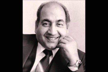 Mohammed Rafi Recording Live Man Tarpat Hai Hari Darshan-Bollywoodirect