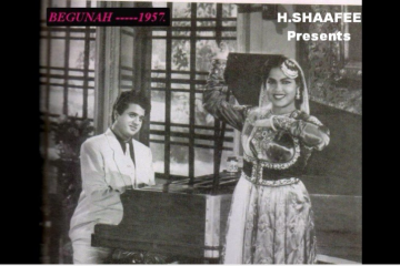 Ae Piyase Dil Be Zuban Tujh Ko Lay Jaon Kahan - Mukesh-Jai Kishen -Begunah-1957-Song-Video-Bollywoodirect