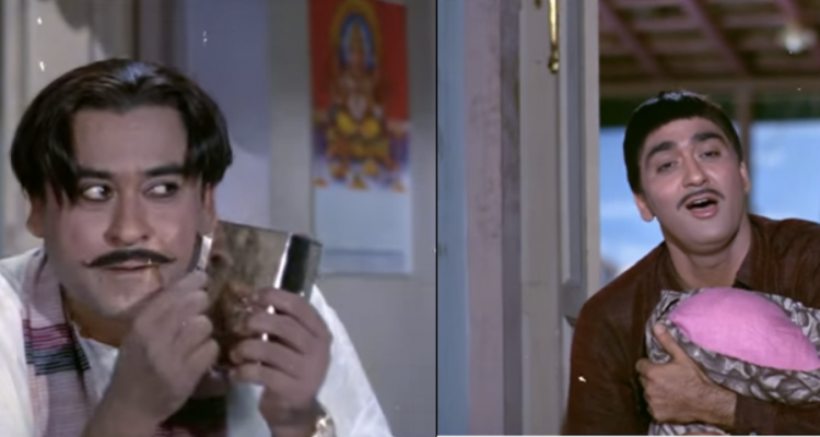 Mere Saamne Wali Khidki Mein - Padosan - 1968-Saira Banu- Sunil Dutt-Kishore Kumar-Video-Song-Bollywoodirect