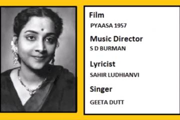 RUT PHIRE PAR DIN-Pyaasa-1957-Geeta Dutt-Guru Dutt-Waheeda Rehman-Video-Song-Bollywoodirect