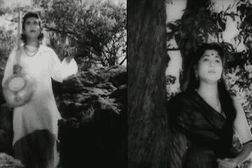 Jara Saamane To Aao Chaliye-Chup Chup Ke Chalne Me Kya Raaj Hai-Janam Janam Ke Phere-1957-S.N._tripathi-Bharat Vyas-Mohammed Rafi-Lata Mangeshkar-Video-Song-Bollywoodirect