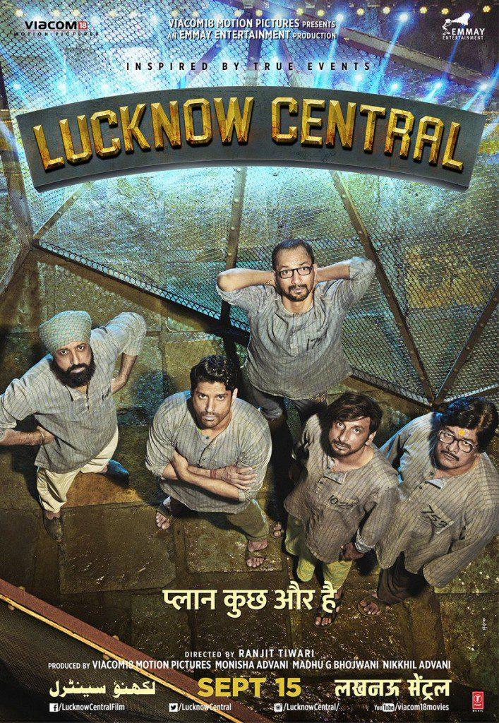 Lucknow Central-Watch-Trailer-Full Movie-Download-Songs-Jukebox-Farhan Akhtar- Diana Penty- Gippy Grewal- Deepak Dobriyal- Ronit Roy-Rajesh Sharma-Inaamulhaq-Bollywood-Bollywoodirect-Poster