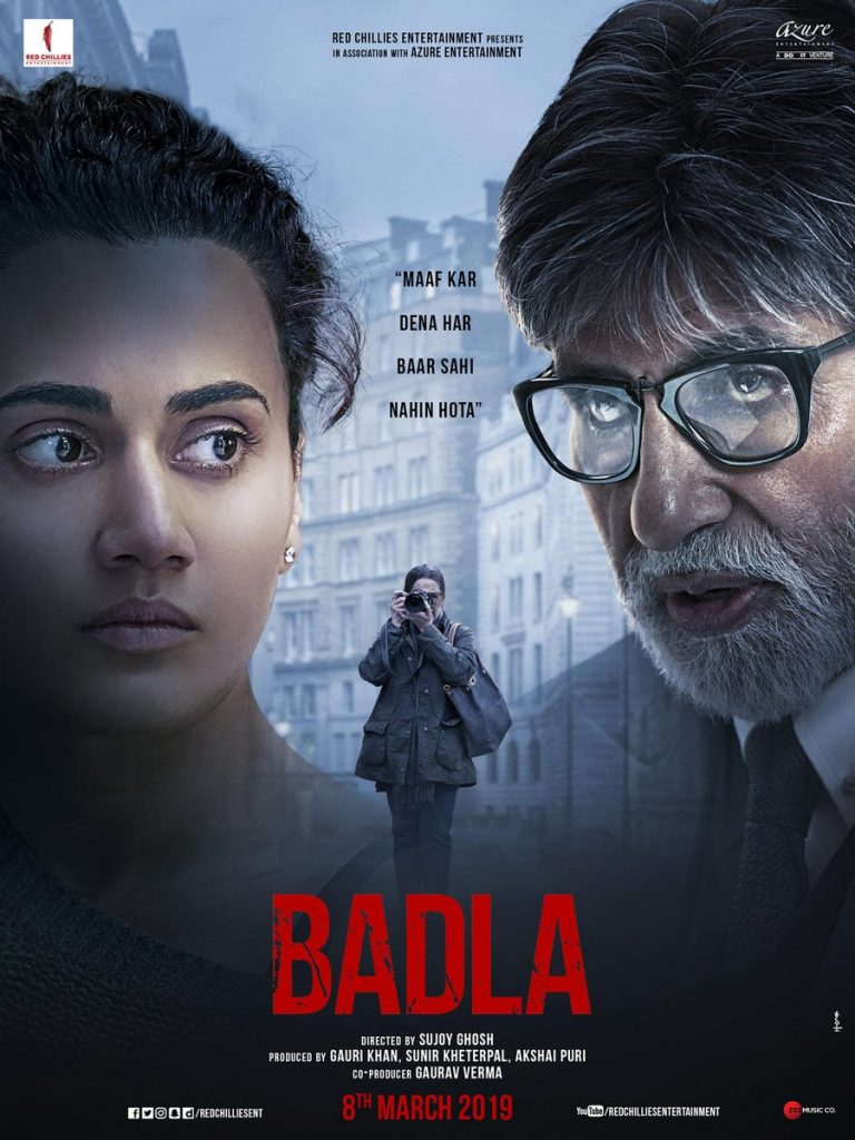 Badla_Sujoy Ghosh_Amitabh Bachchan_Taapsee Pannu_Bollywoodirect_Trailer_First Look