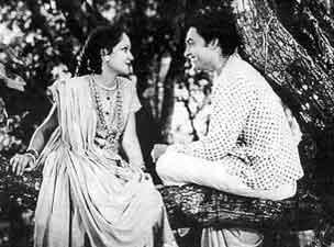 "Ashok Kumar and Devaki Rani in ""Achut Kanya""_Bollywoodirect_Dada Muni"