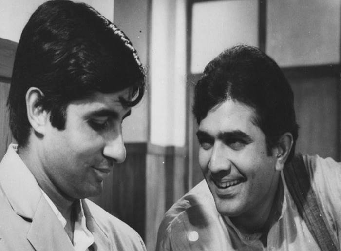Amitabh Bachchan and Rajesh Khanna - Bollywoodirect