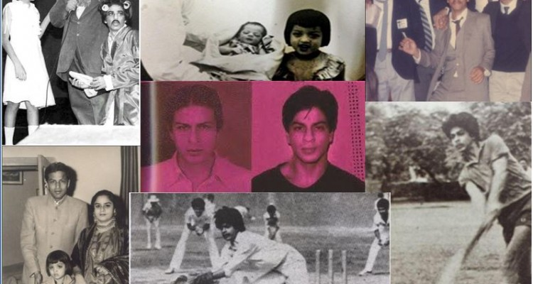 Shahrukh Khan_Family_rare_vintage_old_picture_image_pic_bollywoodirect
