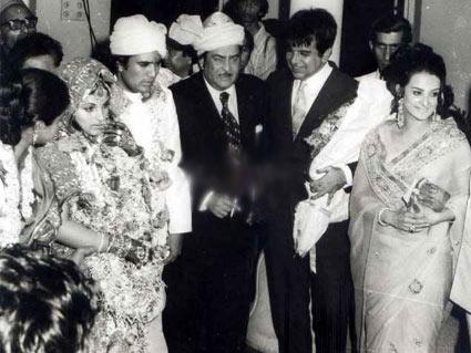 Dilip Ar Saira Banu Raj Kapoor At Rajesh Khanna Dimple Kapadia Wedding Rare Old Vintage Bollywoodirect