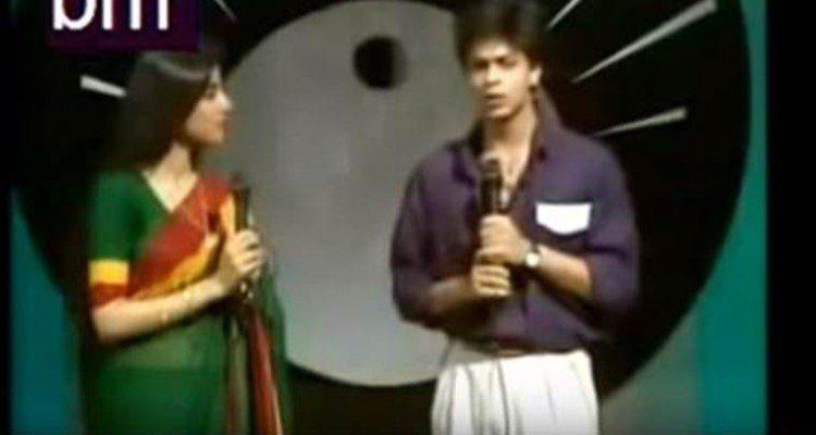 Shah Rukh Khan_Shahrukh-Khan_Shah-Rukh-Khan-As-A-Doordarshan-Anchor-Video-Bollywoodirect