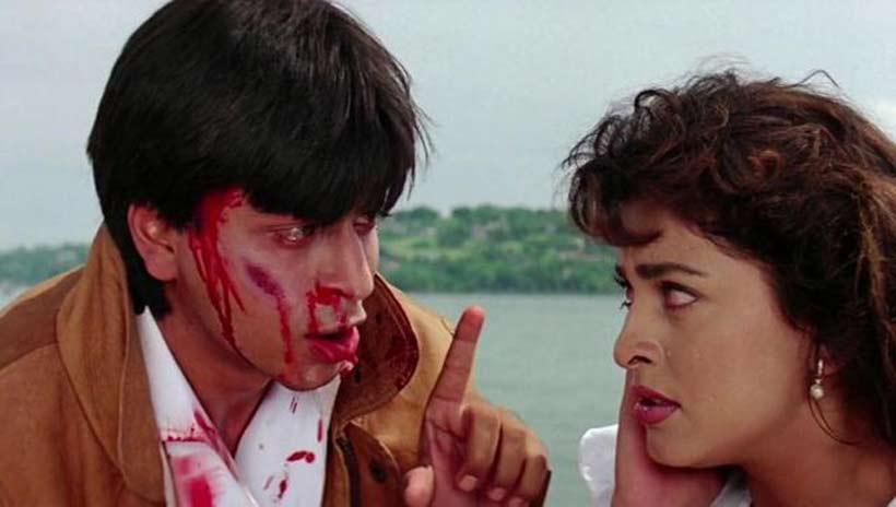Shahrukh Khan-Juhi Chawla_Darr_1993-Bollywoodirect