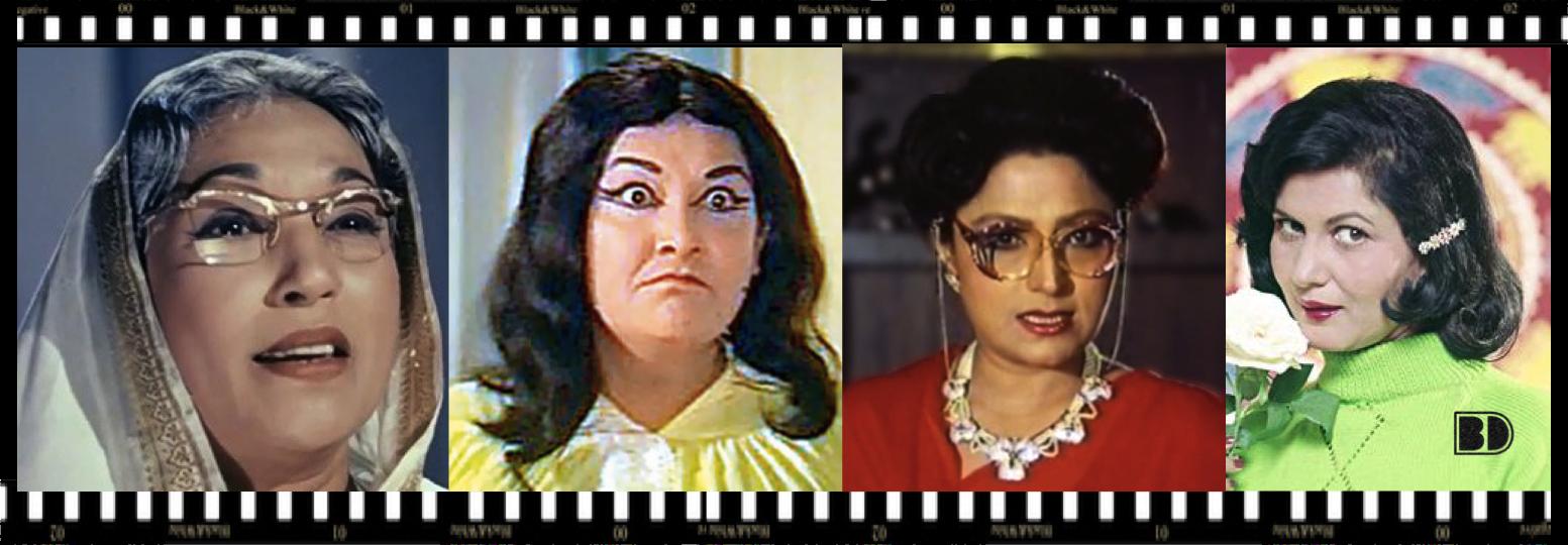 Lalita Pawar-Manorama-Bindu-Sashikala-Bollywoodirect
