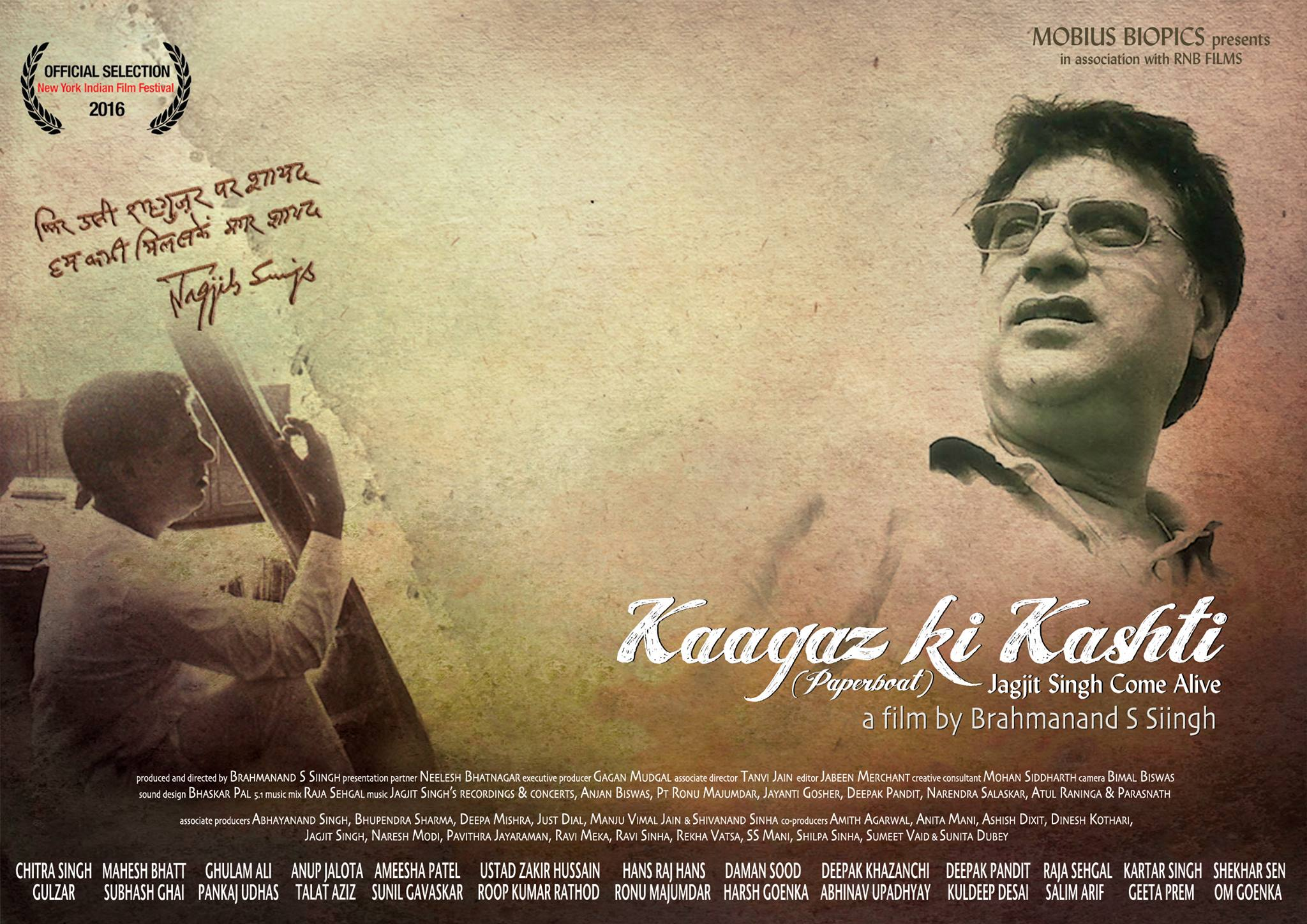 Brahmanand Singh-Kaagaz Ki Kashti-Pancham Unmixed -Documentary-Jagjit Singh-Film-Interview-Director-Interview-Review-Bollywoodirect
