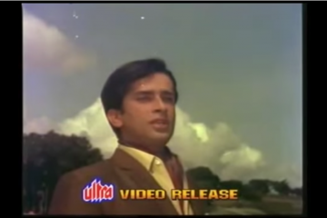 ZIKR HOTA HAI JAB QAYAMAT KA - Shashi Kapoor-Sharmila Tagore-Daansingh-Mukesh - MY LOVE (1970)-Video-Song-Bollywoodirect